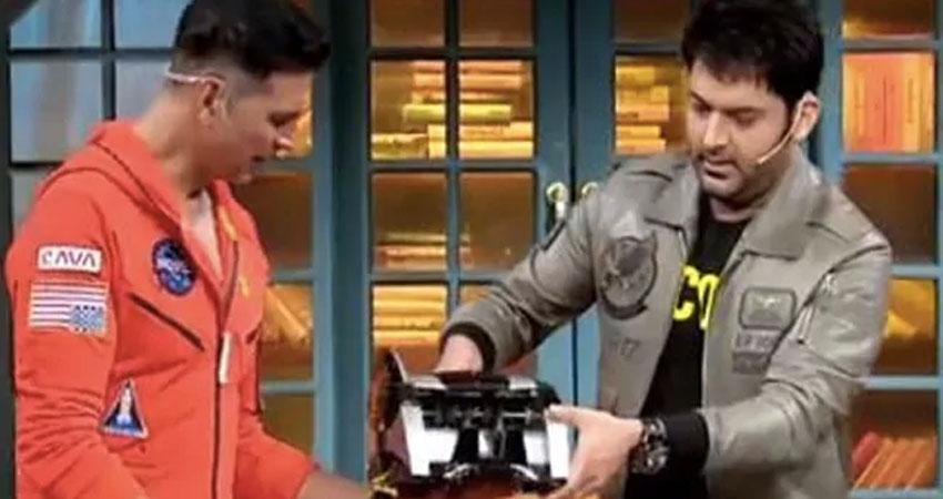 कपिल शर्मा के शो पर पहुंची लक्ष्मी बॉम्ब की टीम, अक्षय ने की फुल मस्ती