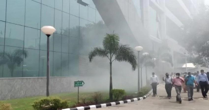 दिल्ली: CBI बिल्डिंग के जेनरेटर में शॉर्ट सर्किट होने से उठा धुंआ, कोई नुकसान नहीं