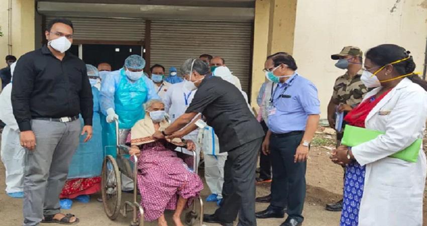 महाराष्ट्र में दिखा करिश्मा, 94 वर्षीय महिला ने कुछ ऐसे दी कोरोना को मात