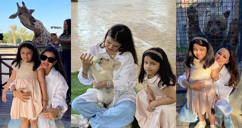 धोनी की पत्नी ने बाघ के बच्चे को पिलाया दूध और मगरमच्छ को खिलाया खाना, वायरल हुआ Video