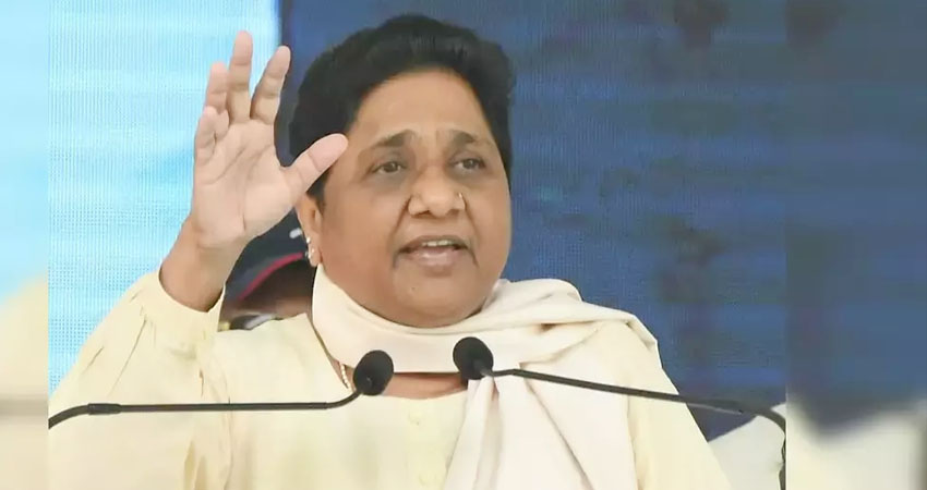 विपक्षी दलों पर भड़की मायावती, कहा- संसद में उनका संविधान की गरिमा-लोकतंत्र को शर्मसार करनेवाला