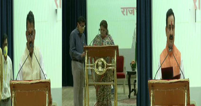 MP: चौहान ने किया पांच सदस्यीय मंत्रिपरिषद का गठन, राज्यपाल ने दिलाई शपथ