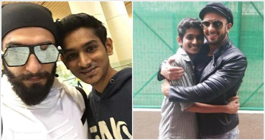 रणवीर सिंह ने फोटो शेयर कर जताया दुख, फैन की हुई मौत