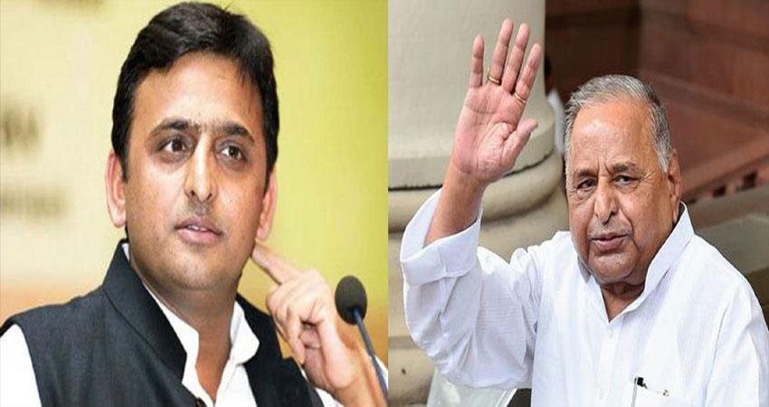 बेटे को मिला बाप का साथ, मैनपुरी से चुनावी रण में उतरेंगे मुलायम