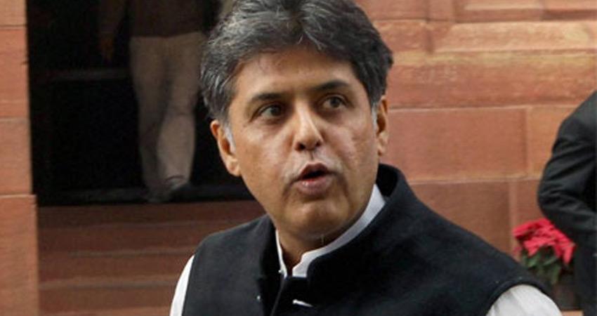 सिद्धू की चुप्पी के बीच मनीष तिवारी बनाए जा सकते हैं पंजाब कांग्रेस के अध्यक्ष