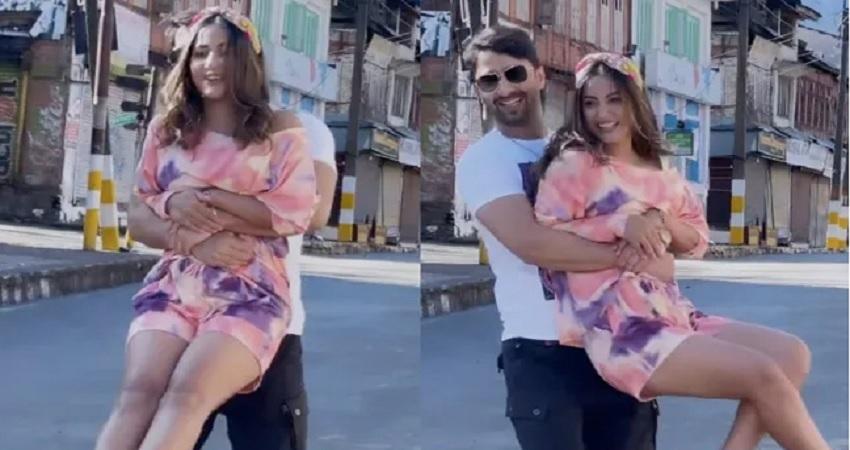 हिना खान और शाहीर शेख का रोमांटिक एल्बम ''बारिश बन जाना'' हुआ रिलीज