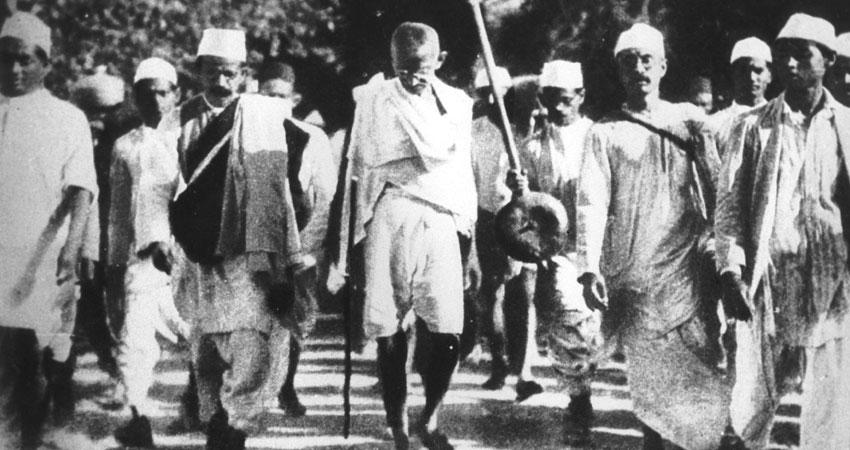 'दांडी मार्च का भारत की आजादी पर प्रभाव'