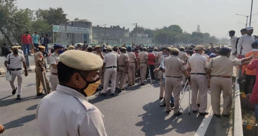 निकिता मर्डर केस: लोगों का फूटा गुस्सा,दिल्ली आगरा हाईवे किया जाम
