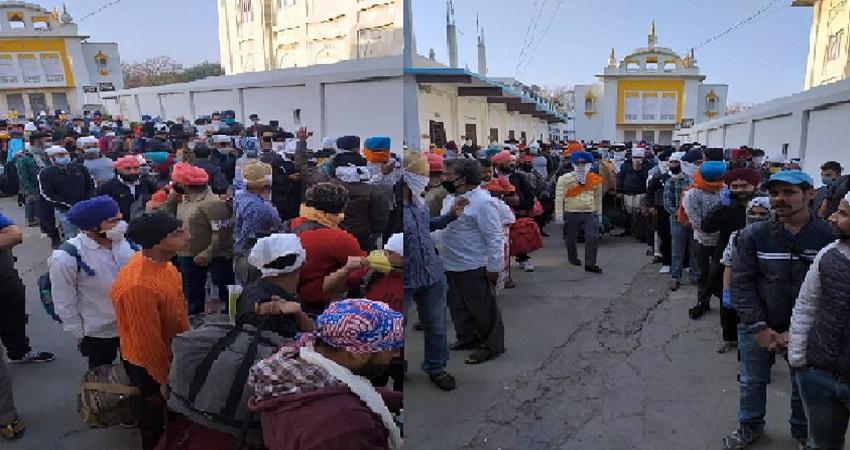निजामुद्दीन मरकज के बाद अब सील हुआ गुरुद्वारा मजनूं का टीला, 300 लोग फंसे
