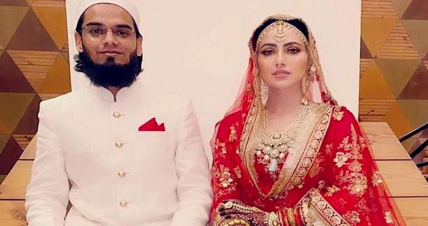 Sana Khan ने शादी के बाद बदला अपना नाम, पति के साथ फोटो शेयर कर लिखा- अल्लाह की खातिर...