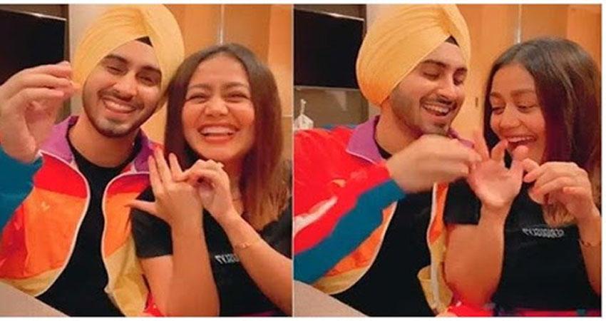 नेहा कक्कड़ ने रोहनप्रीत संग सोशल मीडिया पर कुछ इस तरह किया अपने प्यार का इजहार