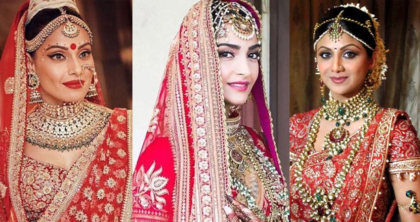 सोनम से पहले इन 7 BOLLYWOOD BRIDES ने लूटी महफिल, देखिए PICS
