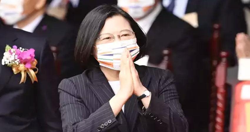 ताइवानी राष्ट्रपति ने चीन को लोकतंत्र के लिए बताया गंभीर चुनौती, भारत-चीन टकराव इसका उदाहरण