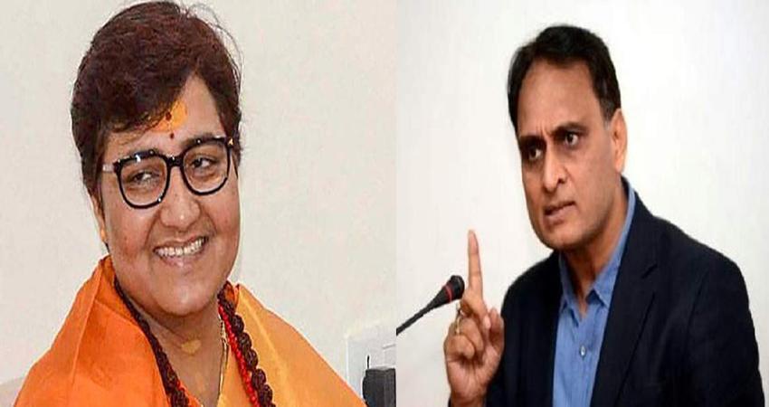 कांग्रेस के बवाल पर BJP का पलटवार, कहा- प्रज्ञा ठाकुर को समिति से हटाने की मांग नासमझी