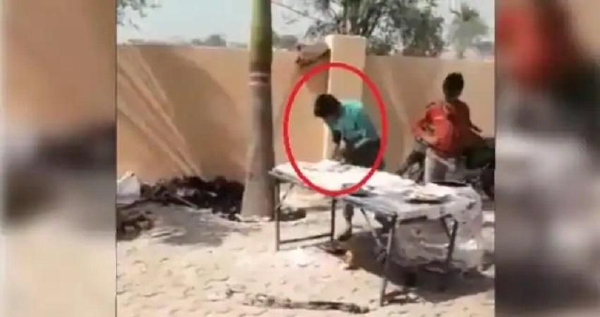 गाजियाबाद: शादी समारोह में तंदूर नान पर थूकने का वीडियो वायरल, आरोपी फरार