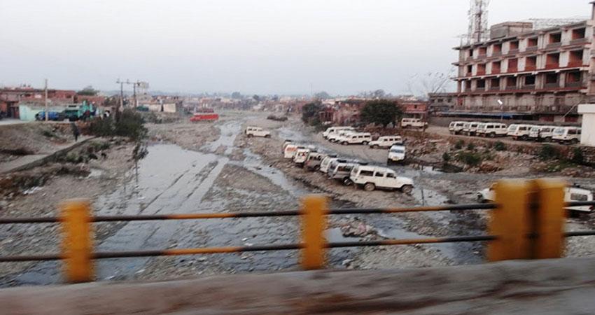 डेढ़ दशक में बर्बादी की कगार पर पहुंची रिस्पना
