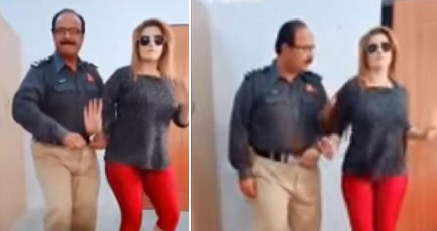 गोविंदा के गाने पर इस पाकिस्तानी पुलिस ने महिला के साथ लगाए ठुमके, Video हुआ वायरल
