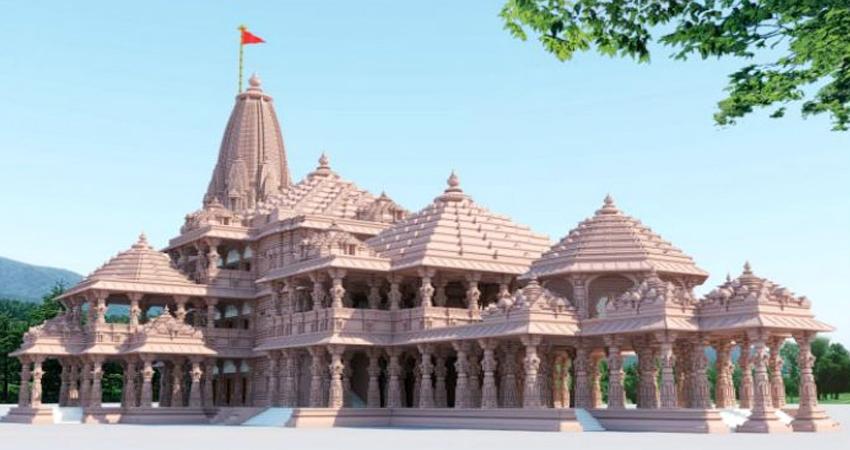 UP: अयोध्या में भगवान श्रीराम के मंदिर निर्माण का कार्य हुआ तेज, फरवरी से होगा ये काम
