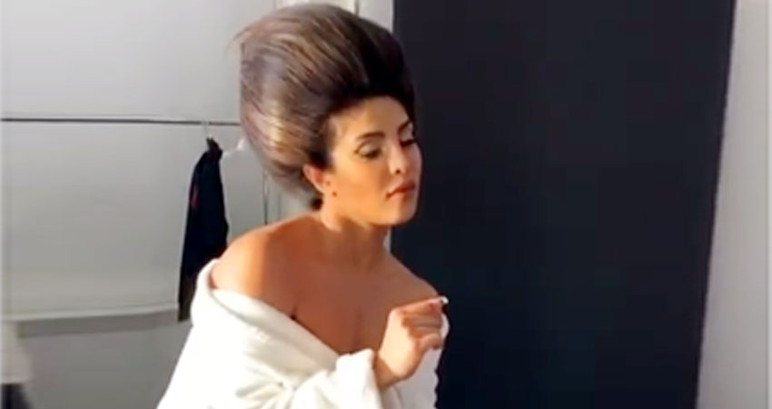 इस वीडियो में अपने Hairstyle को लेकर ट्रोल हुईं प्रियंका, कार्टून कैरेक्टर से की गई तुलना