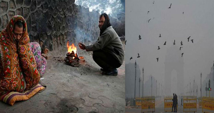 कश्मीर की बर्फबारी से कांपा पूरा उत्तर भारत, दिल्ली में भी बढ़ी ठिठुरन