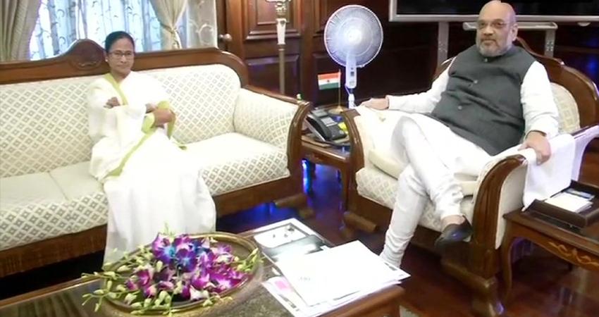 PM मोदी के बाद गृहमंत्री अमित शाह से मिली ममता बनर्जी, इन मुद्दों पर हुई चर्चा