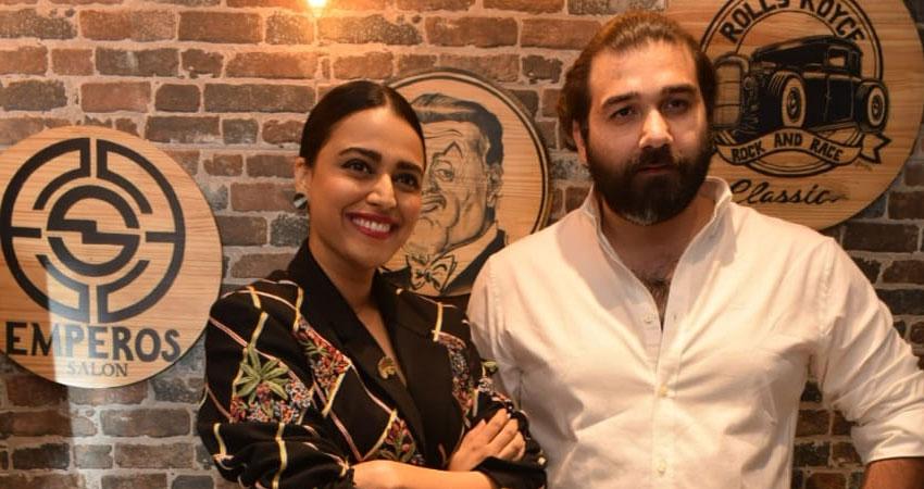 अभिनेत्री स्वरा भास्कर ने दिल्ली में किया एम्पेरोस सैलून का उद्घाटन