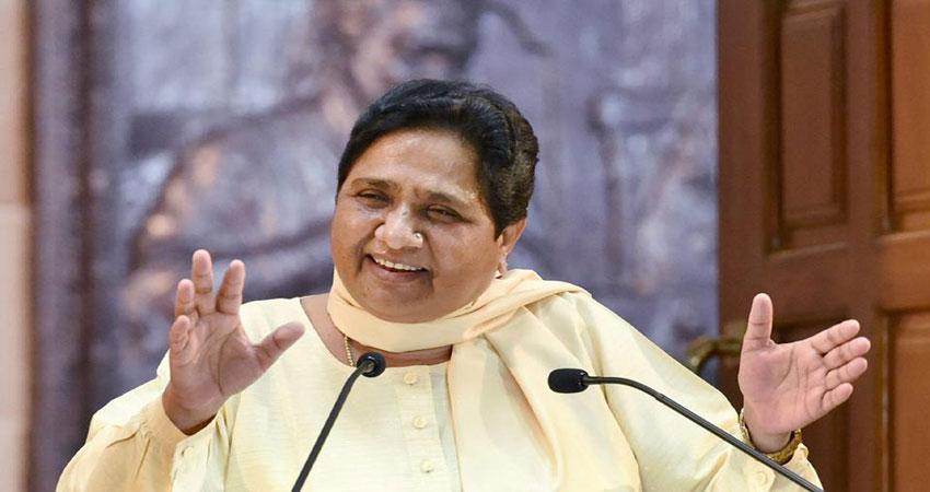 मायावती का PM पर हमला- ''पहले चायवाला और अब चौकीदार, देश वाकई बदल रहा है''