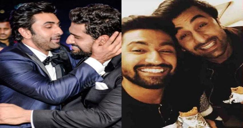 Filmfare Awards 2019: Video में देखें रणबीर ने कैसे भरी महफिल में विक्की कौशल के साथ किया Liplok