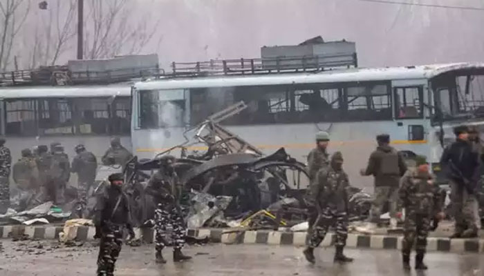 'जम्मू-कश्मीर में पुलवामा की धरती पर''खेली जा रही खून की होली'