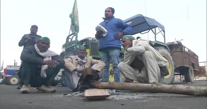 किसान दिवस पर भी जारी है आंदोलन, गाजीपुर बॉर्डर पर हुआ हवन