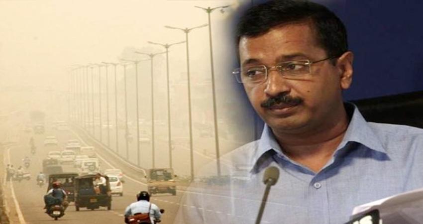 पड़ोसी राज्यों में पराली जलाने के चलते फिर से बढ़ा दिल्ली का प्रदूषण, CM ने किया ट्वीट