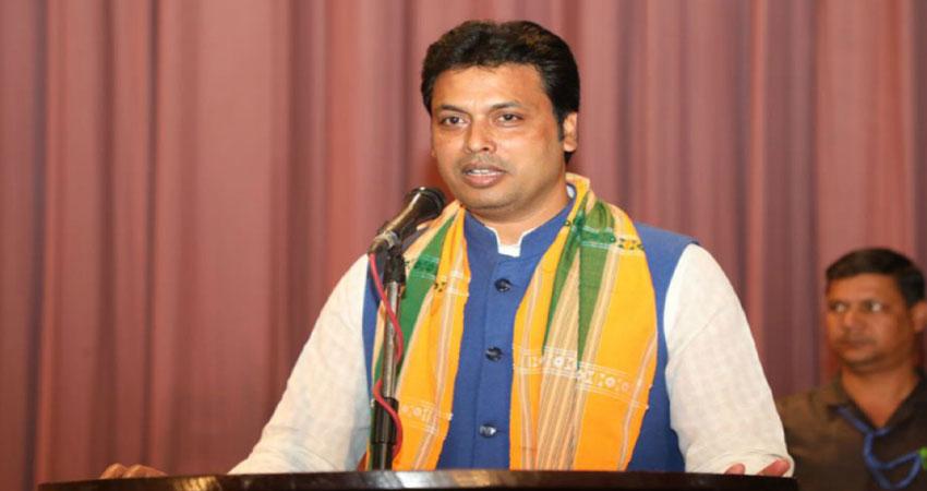 RSS प्रचारक के अलावा जिम इंस्ट्रक्टर भी रह चुके हैं त्रिपुरा के नए CM बिप्लब देब