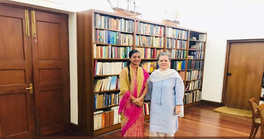 मुझे वापस कांग्रेस में देखना चाहती हैं सोनिया गांधी- मुलाकात के बाद अलका लांबा