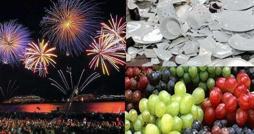New Year 2020: दुनिया के इन देशों में अजीबो-गरीब तरीके से होता है नए साल का स्वागत