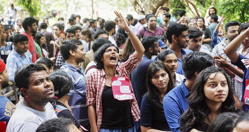 JNU में शुरू हुआ छात्रसंघ चुनाव, जाने कौन दे रहा है किसको टक्कर