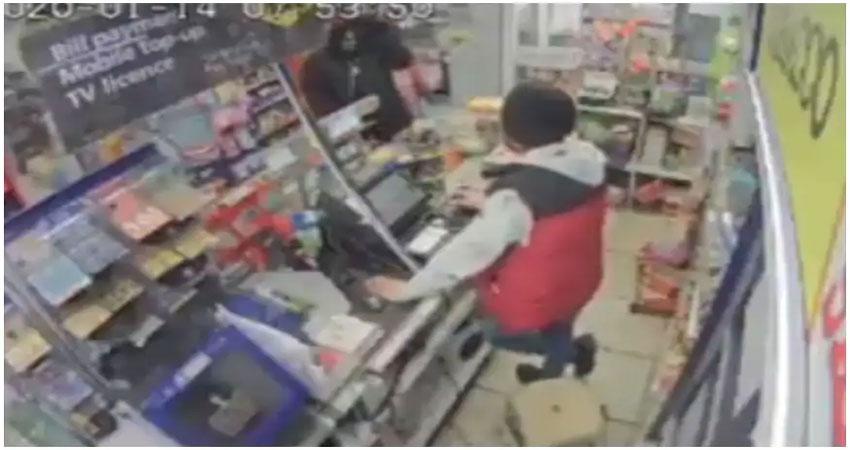 पंजाब: दुकान में लूटपाट की कोशिश, दुम दबाकर भागा लुटेरा