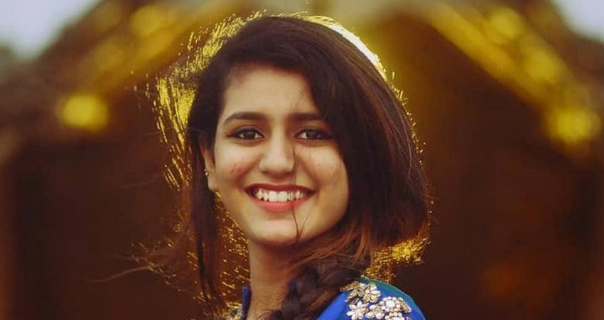 प्रिया प्रकाश को सुप्रीम कोर्ट से बड़ी राहत, रद्द हुई FIR