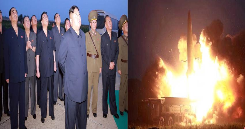 उत्तर कोरिया ने फिर अमेरिका को दिखाई ताकत, जापान के इलाके में दागीं दो प्रोजेक्टेड मिसाइल