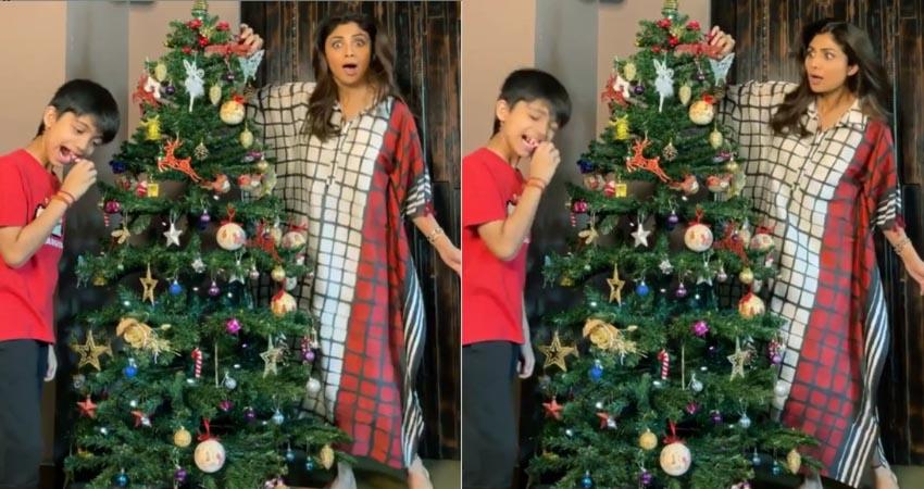 बॉलीवुड सेलेब्स जमकर सेलिब्रेट कर रहे हैं CHRISTMAS, मजेदार है शिल्पा शेट्टी का पोस्ट