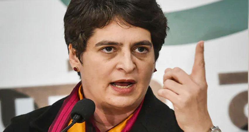 कोरोना: UP में वीकेंड लॉकडाउन पर प्रियंका का तंज, कहा- असफलता छिपाने के लिए खिलवाड़ जारी है