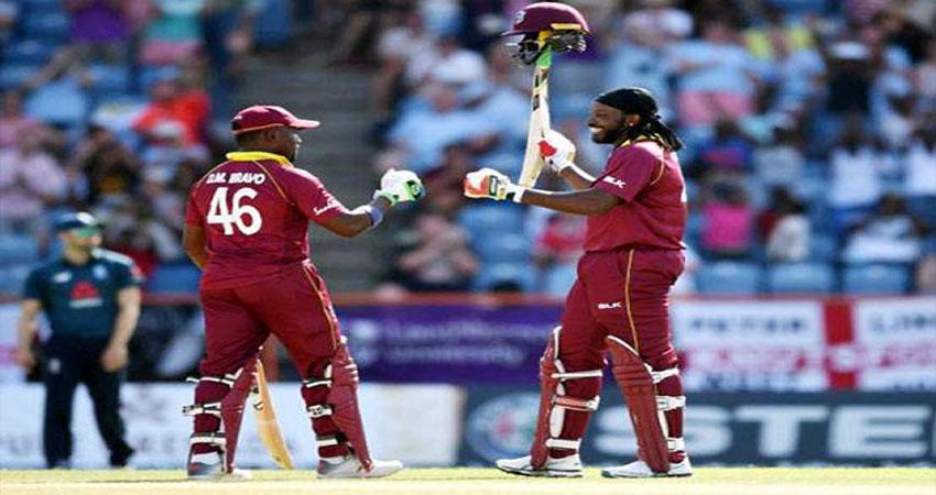 गेल ने ढाया कहर: इंटरनेशनल क्रिकेट में जड़े 500 छक्के, मैच में बने कई बड़े रिकार्ड