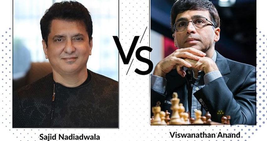 कोविड-19 में मदद के लिए साजिद नाडियाडवाला का खास कदम, विश्वनाथन आनंद के साथ खेलेंगे शतरंज!