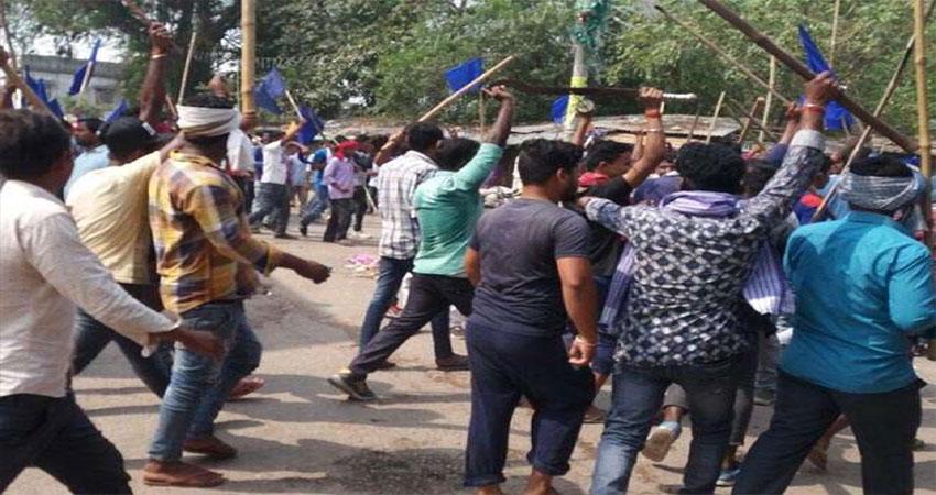 चुनावी रुझानों में NDA को भारी बढ़त के बाद बेगूसराय में हिंसा, कन्हैया-बीजेपी के समर्थक भिड़े