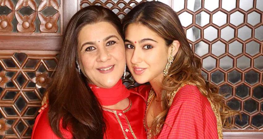 सारा अली खान और अमृता सिंह पहली बार ब्रांड एंडोर्समेंट के लिए आए एक साथ!