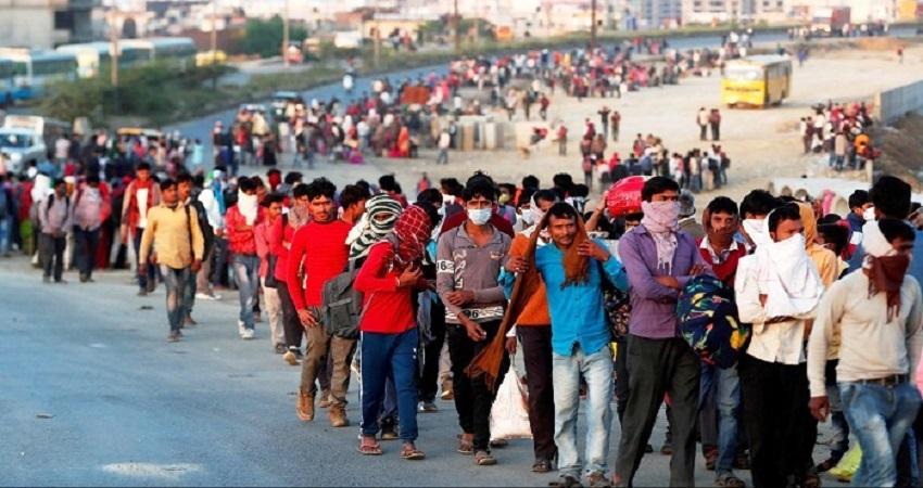 सर्वे- लॉकडाउन में 67% मजदूरों का गया रोजगार, 74% लोग आधा पेट भूखा रहने को विवश
