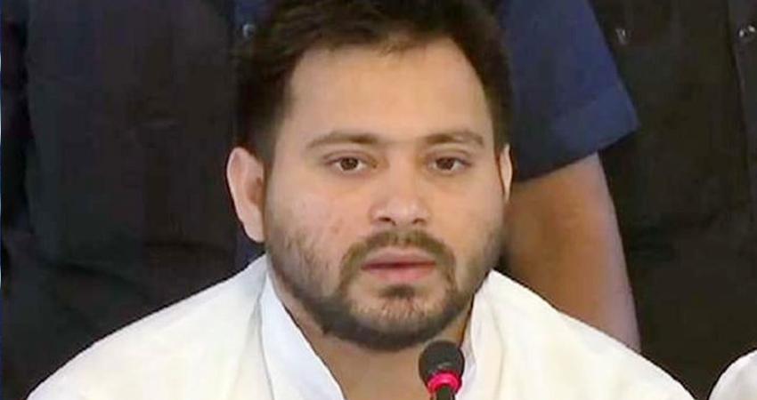 समस्तीपुर: तेजस्वी ने अमित कुमार के लिए वोट मांगते हुए की बड़ी भूल, कही ये बात