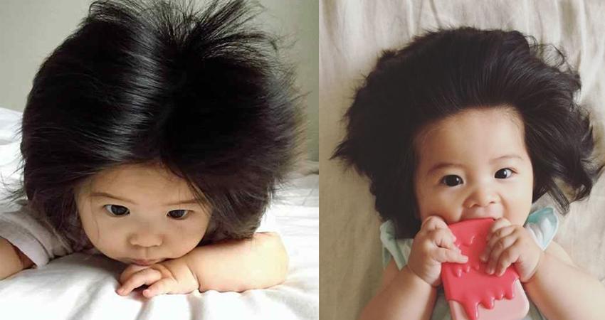 6 महीने की बच्ची है इंटरनेट सेंसेशन, जानिए क्या है राज