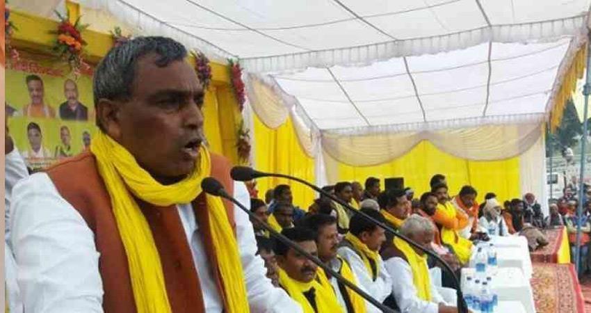 सपा-बसपा गठबंधन से उत्साहित हैं योगी के मंत्री राजभर, भाजपा की बढ़ाई मुश्किलें