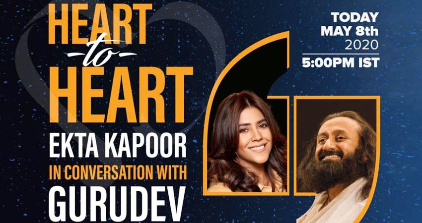 कोरोना संकट के बीच राहत देगा एकता कपूर का नया शो, श्रीश्री रविशंकर होंगे शामिल!