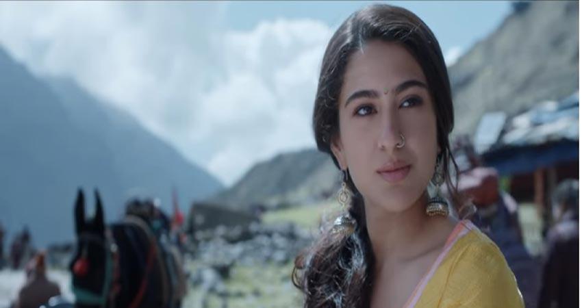 सारा की खूबसूरती के दीवाने हुए दर्शक, ''केदारनाथ'' को लेकर दिए ये Reactions